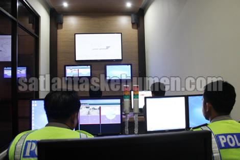 Ruang Call Centre Polres Kebumen
