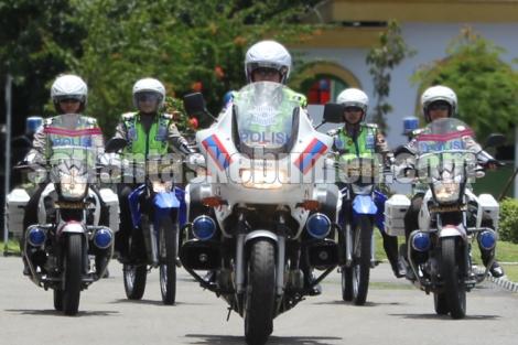 Patroli Polwan Sat Lantas Polres Kebumen