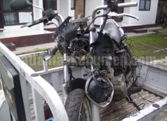 Kondisi sepeda motor Mega Pro