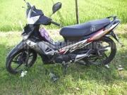 Kondisi motor korban setelah kejadian
