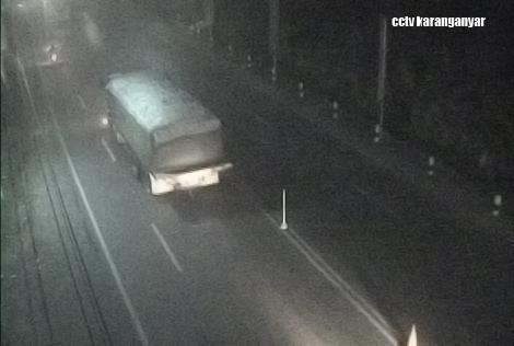 Pantauan CCTV Karanganyar pukul 19.55 malam ini